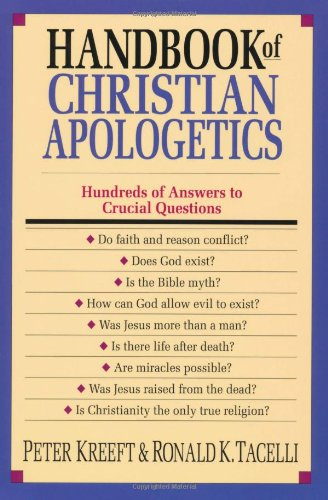 Handbook of Christian Apologetics   1994 edition cover
