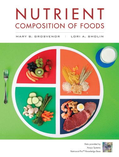 Nutrient Composition of Foods Booklet to Accompany Nutrition Science and Applications, Third Edition N/A edition cover