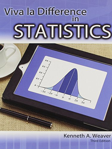 Viva la Difference in Statistics  3rd 2013 (Revised) edition cover
