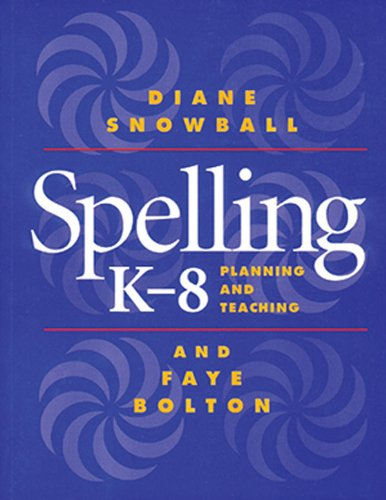 Spelling K-8 Planning and Teaching  1999 edition cover