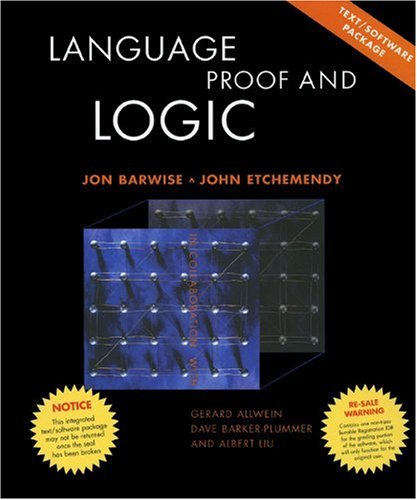 Language, Proof and Logic   1999 9781575863740 Front Cover