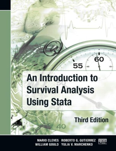 Introduction to Survival Analysis Using Stata, Third Edition  3rd 2010 (Revised) edition cover
