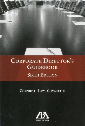 Corporate Director's Guidebook  6th 2011 (Revised) edition cover