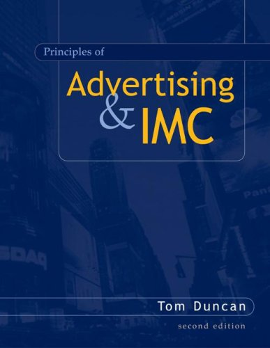 Principles of Advertising and IMC 2nd 2005 edition cover