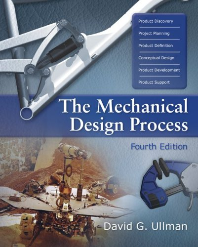 Mechanical Design Process  4th 2010 edition cover