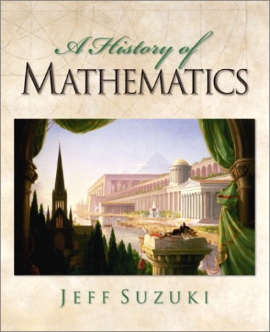 History of Mathematics   2002 9780130190741 Front Cover