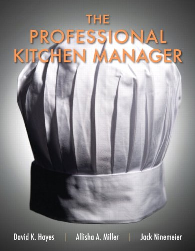 Professional Kitchen Manager   2012 (Revised) edition cover