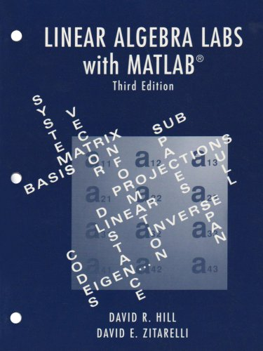 Linear Algebra Labs with MATLAB  3rd 2004 edition cover
