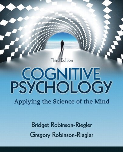 Cognitive Psychology Applying the Science of the Mind 3rd 2012 edition cover