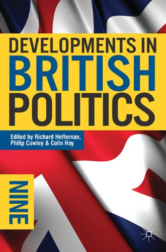 Developments in British Politics 9  9th 2011 (Revised) 9780230221741 Front Cover