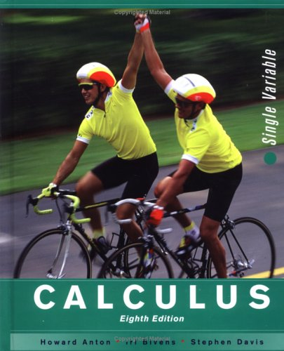 Calculus Late Transcendentals Single Variable 8th 2005 (Revised) edition cover