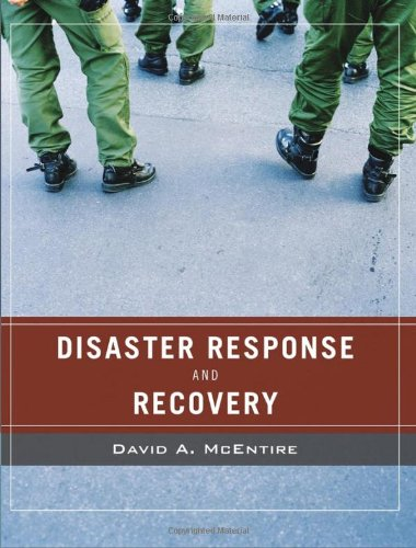 Wiley Pathways Disaster Response and Recovery   2007 edition cover