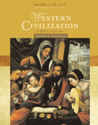 Western Civilization A Brief History to 1715 4th 2008 (Revised) edition cover