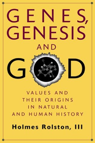 Genes, Genesis, and God Values and Their Origins in Natural and Human History  1999 9780521646741 Front Cover