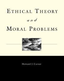 Ethical Theory and Moral Problems   1999 9780534529741 Front Cover