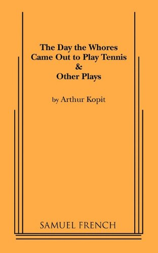 Day the Whores Came Out to Play Tennis   1993 9780573621741 Front Cover