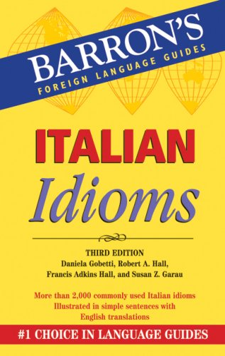 Italian Idioms  2nd 2008 (Revised) edition cover