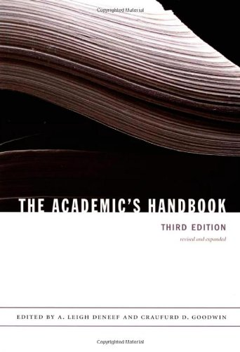 Academic's Handbook  3rd 2006 edition cover
