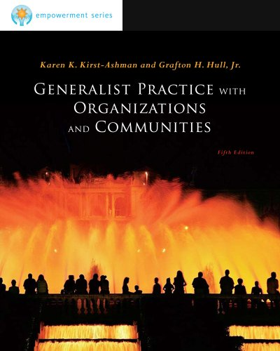 Generalist Practice with Organizations and Communities  5th 2012 edition cover