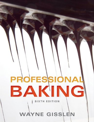 Professional Baking  6th 2013 edition cover
