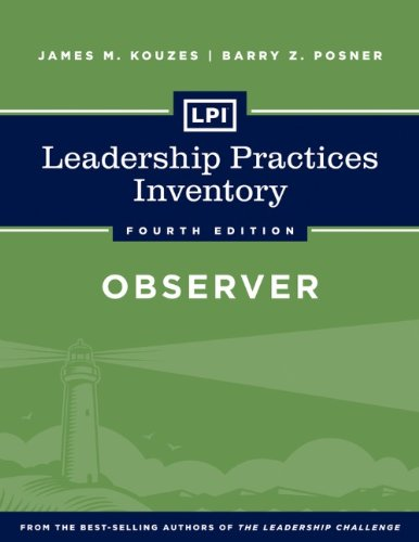 Leadership Practices Inventory - Observer  4th 2013 edition cover