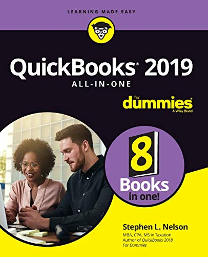 QuickBooks 2019 All-In-One for Dummies   2019 9781119523741 Front Cover