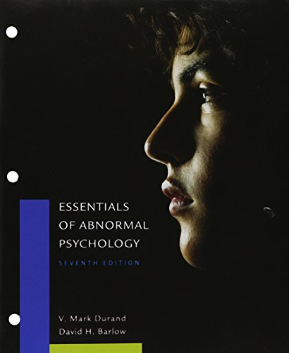 Essentials of Abnormal Psychology + Lms Integrated for Mindtap Psychology, 1-term Access:   2015 9781305698741 Front Cover