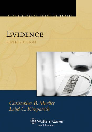Evidence  5th 2012 (Revised) edition cover