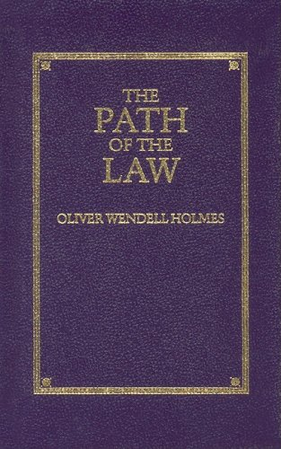 Path of the Law   1996 (Reprint) 9781557091741 Front Cover
