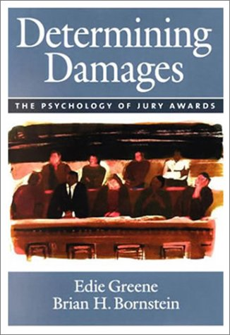 Determining Damages The Psychology of Jury Awards  2002 edition cover