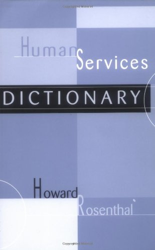 Human Services Dictionary   2003 edition cover