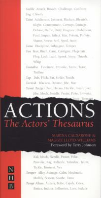 Actions The Actors' Thesaurus  2002 edition cover