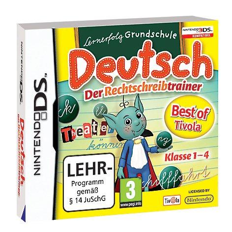 Lernerfolg Grundschule - Deutsch: Der Rechtschreibtrainer Nintendo DS artwork