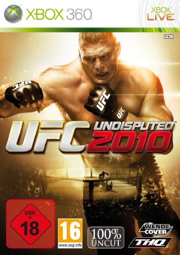 UFC Undisputed 2010 - FairPay Xbox 360 artwork