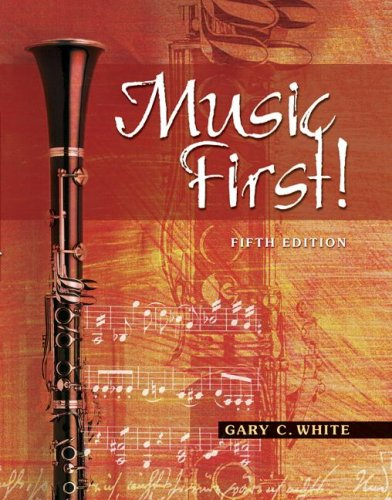 Music First!  5th 2007 edition cover
