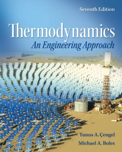 Thermodynamics An Engineering Approach 7th 2011 9780077366742 Front Cover