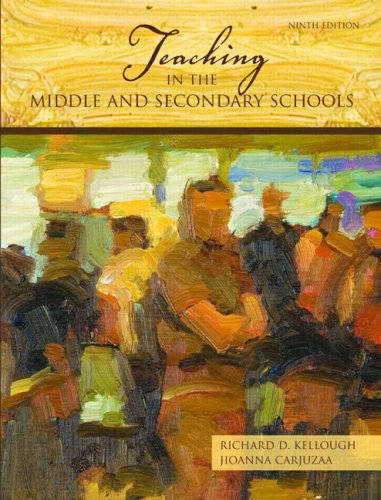 Teaching in the Middle and Secondary Schools  9th 2009 edition cover