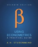 Using Econometrics: A Practical Guide  2016 9780134182742 Front Cover