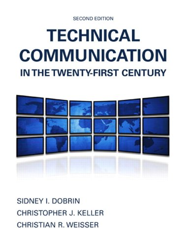 Technical Communication in the Twenty-First Century  2nd 2010 edition cover