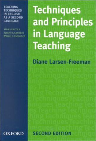 Techniques and Principles in Language Teaching  2nd 2000 (Revised) edition cover