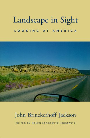Landscape in Sight Looking at America  1999 edition cover