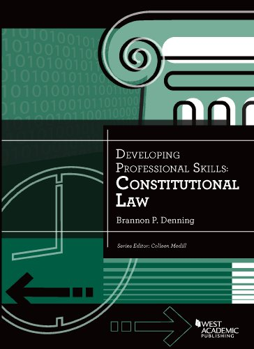 Developing Professional Skills: Constitutional Law  2014 9780314289742 Front Cover
