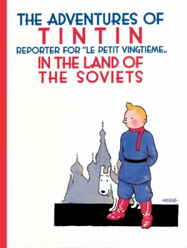 Tintin in the Land of the Soviets  N/A edition cover