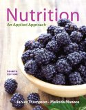 Nutrition An Applied Approach 4th 2015 edition cover