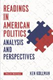 Readings in American Politics: Analysis and Perspecitves  2014 9780393936742 Front Cover