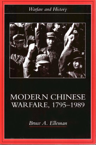 Modern Chinese Warfare, 1795-1989   2001 edition cover