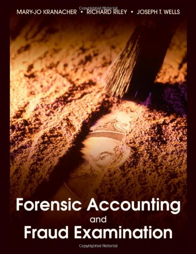 Forensic Accounting and Fraud Examination   2011 edition cover