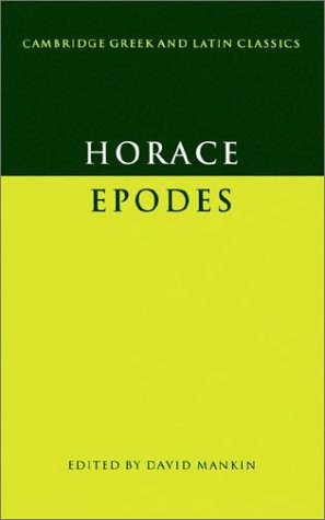 Epodes   1995 9780521397742 Front Cover