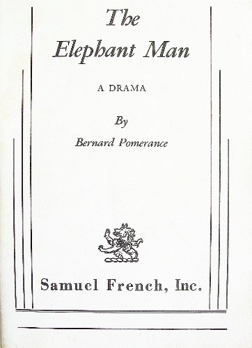 Elephant Man A Drama  1979 9780573608742 Front Cover