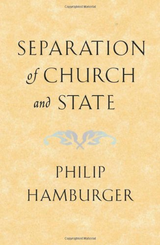Separation of Church and State   2002 edition cover